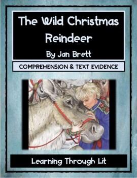 Jan Brett THE WILD CHRISTMAS REINDEER - Comprehension & Te