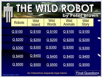 THE WILD ROBOT by Peter Brown--A Uniquely Exciting Wilderness Adventure!
