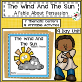 THE WIND AND THE SUN FABLE UNIT FOR EMERGENT READERS FOCUS