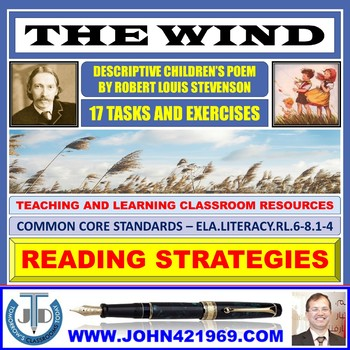 THE WIND BY ROBERT LOUIS STEVENSON - TASKS AND EXERCISES