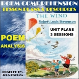 THE WIND BY ROBERT LOUIS STEVENSON - UNIT PLANS AND RESOURCES