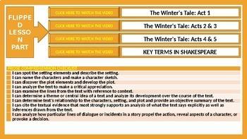 THE WINTER'S TALE - SHAKESPEAREAN TRAGIC-COMEDY - LESSON PRESENTATION