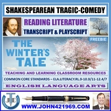 THE WINTER'S TALE - TRANSCRIPT AND PLAY-SCRIPT - FREEBIE