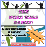 Vocabulary review game, word wall, fun stuff, games, drawi