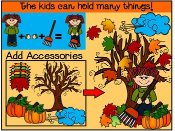 FALL-AUTUMN CLIP ART-THE WORKS! SELLER STARTER BUNDLE 300+ IMAGES-CU
