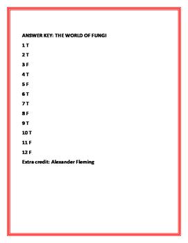 THE WORLD OF FUNGUS: QUIZ