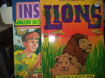 THE WORLD OF LIONS  INS  ACTIVITY BOOK (SET IF 2)