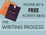 THE WRITING PROCESS Posters Set and FREE Activity Ideas