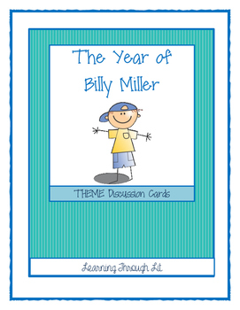 THE YEAR OF BILLY MILLER - THEME Discussion Cards