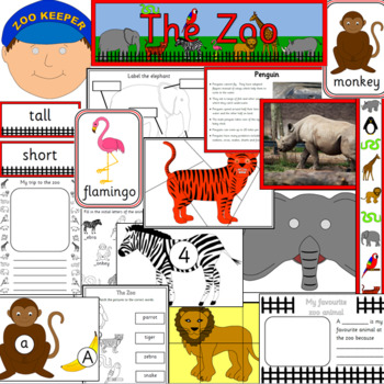 THE ZOO thematic topic unit