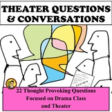 DRAMA CLASS QUESTIONS AND CONVERSATIONS