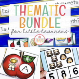 THEMATIC UNIT ACTIVITIES FOR LITTLE LEARNERS | GROWING BUNDLE
