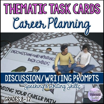 CONVERSATION TASK CARDS: CHOOSING YOUR CAREER PATH Speaking/Writing