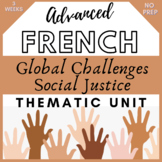 THEMATIC UNIT LESSON UNIT French GLOBAL CHALLENGES - Defis