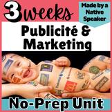 THEMATIC UNIT LESSON PLANS French vie contemporaine MÉDIA et PUBLICITÉS  AP