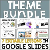 THEME (7 Mini-Lessons Digitally in Google Slides)