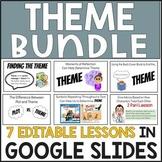 THEME (7 Mini-Lessons Digitally in Google Slides) BUNDLE