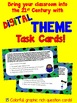 THEME Digital Task Cards (for Google Drive)
