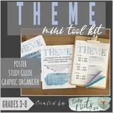 THEME MINI TOOL KIT | Grades 3-5 | Study Guide, Poster, Gr