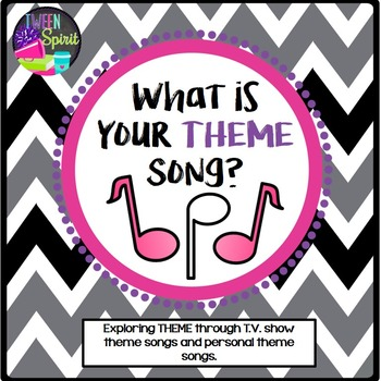"THEME Project ""What is Your Theme Song?""-Exploring Literary Terms through Songs!"