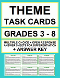 THEME TASK CARDS: 15 ACTIVITIES: GRADES 3 - 6