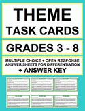 THEME TASK CARDS: 15 ACTIVITIES: GRADES 3 - 6