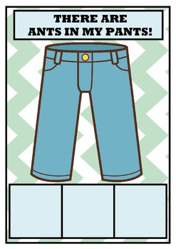 THERE ARE ANTS IN MY PANTS! Alphabet Game