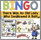 THERE WAS AN OLD LADY WHO SWALLOWED A BAT! BINGO