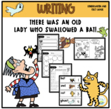 THERE WAS AN OLD LADY WHO SWALLOWED A BAT! WRITING FORMS