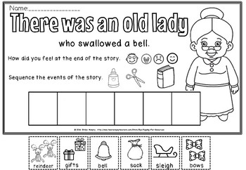THERE WAS AN OLD LADY WHO SWALLOWED A BELL(50% off)