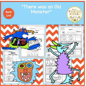 THERE WAS AN OLD MONSTER  BOOK UNIT