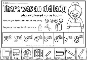 THERE WAS AN OLD LADY THAT SWALLOWED SOME BOOKS( FREE)