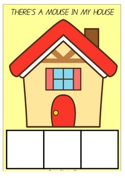 THERE'S A MOUSE IN MY HOUSE - BLENDS, DIAGRAPHS AND DIPHTHONGS GAME - AUS FONT