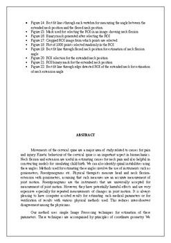 THESIS ON BIOMECHANICS, COORDINATE GEOMETRY, AND MEDICINE