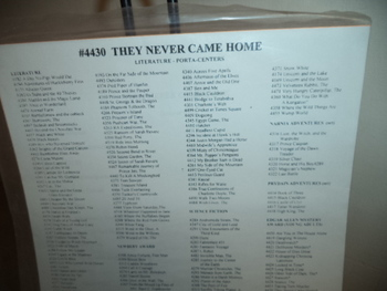 THEY NEVER CAME HOME #4430