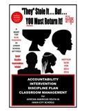 SALE  $99.99  ACCOUNTABILITY CENTER   IN-SCHOOL SUSPENSION - 73-PAGE PROGRAM