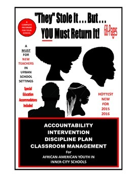 SALE  $99.99  ACCOUNTABILITY CENTER   IN-SCHOOL SUSPENSION - 73-PAGE PROGRAM