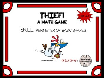 THIEF - A MATH GAME - Perimeter of Polygons