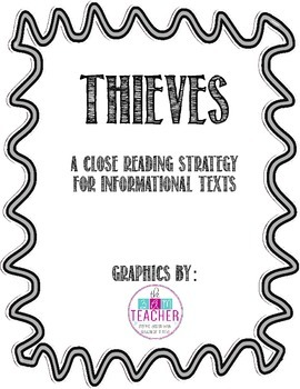THIEVES Anchor Charts