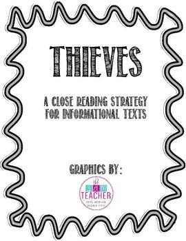 THIEVES Anchor Charts