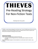 THIEVES: Pre-Reading Strategy - Non-fiction text