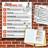 THIEVES Reading Strategy Printables Kit: Poster, Bookmarks