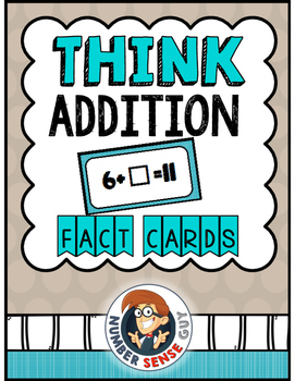 THINK ADDITION CARDS