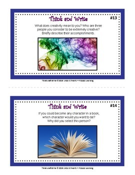 THINK AND WRITE • Ideas for Creative Writing