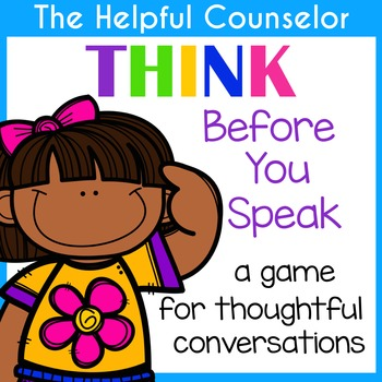 THINK Before You Speak Game