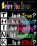 THINK Before You Speak - Poster