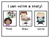 THINK DRAW WRITE    I CAN Write A Story!