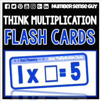 THINK MULTIPLICATION FLASH CARDS