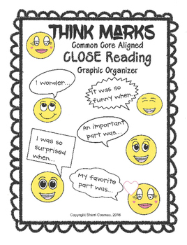 THINK Marks Graphic Organizer