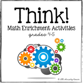 THINK!  Math Enrichment Activities (4-5)